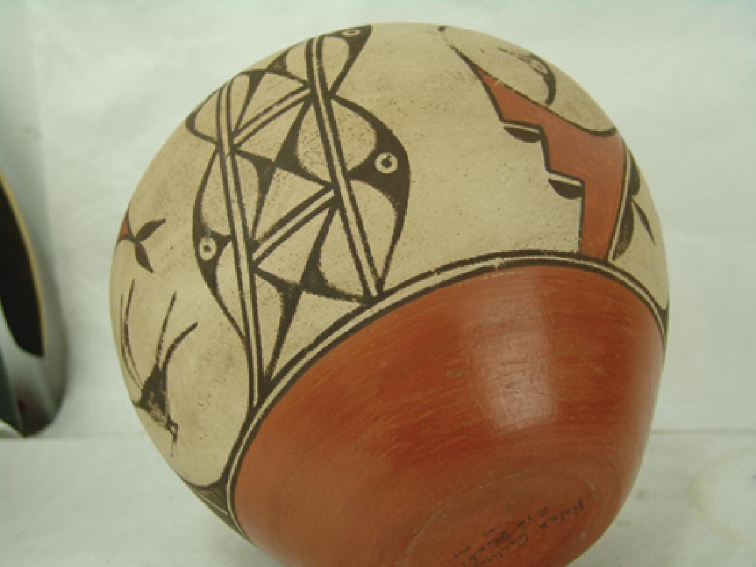 Zia Pottery Jar - Helen Gachupin - 8