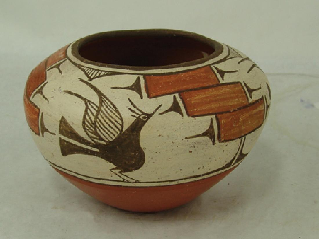 Zia Pottery Jar - Kathy Pino - 2