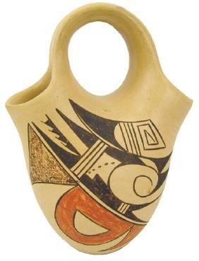 Hopi Pottery Jar - Evelyn Poolheco