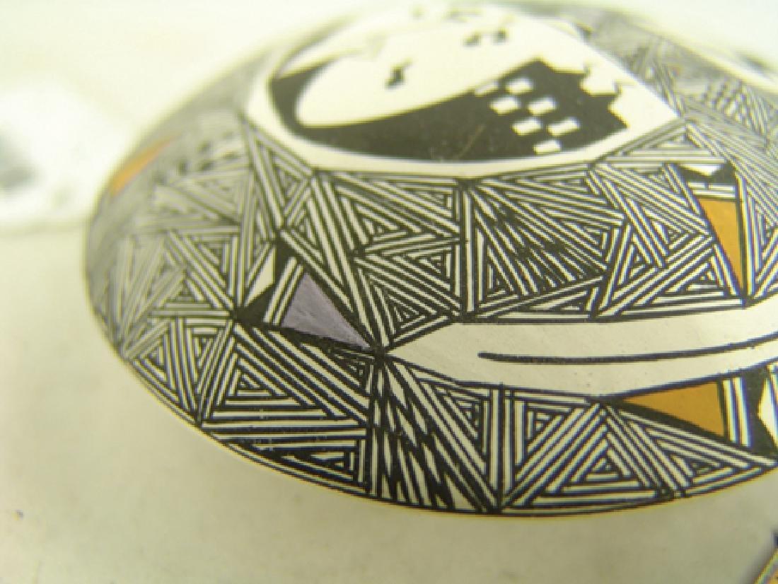 Acoma Pottery Jar - Sheila Concho - 5