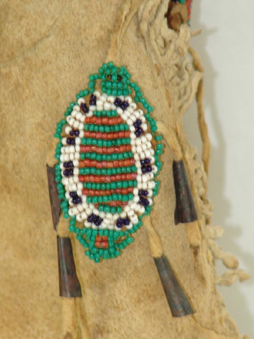 Sioux Beaded Buckskin Doll - 3