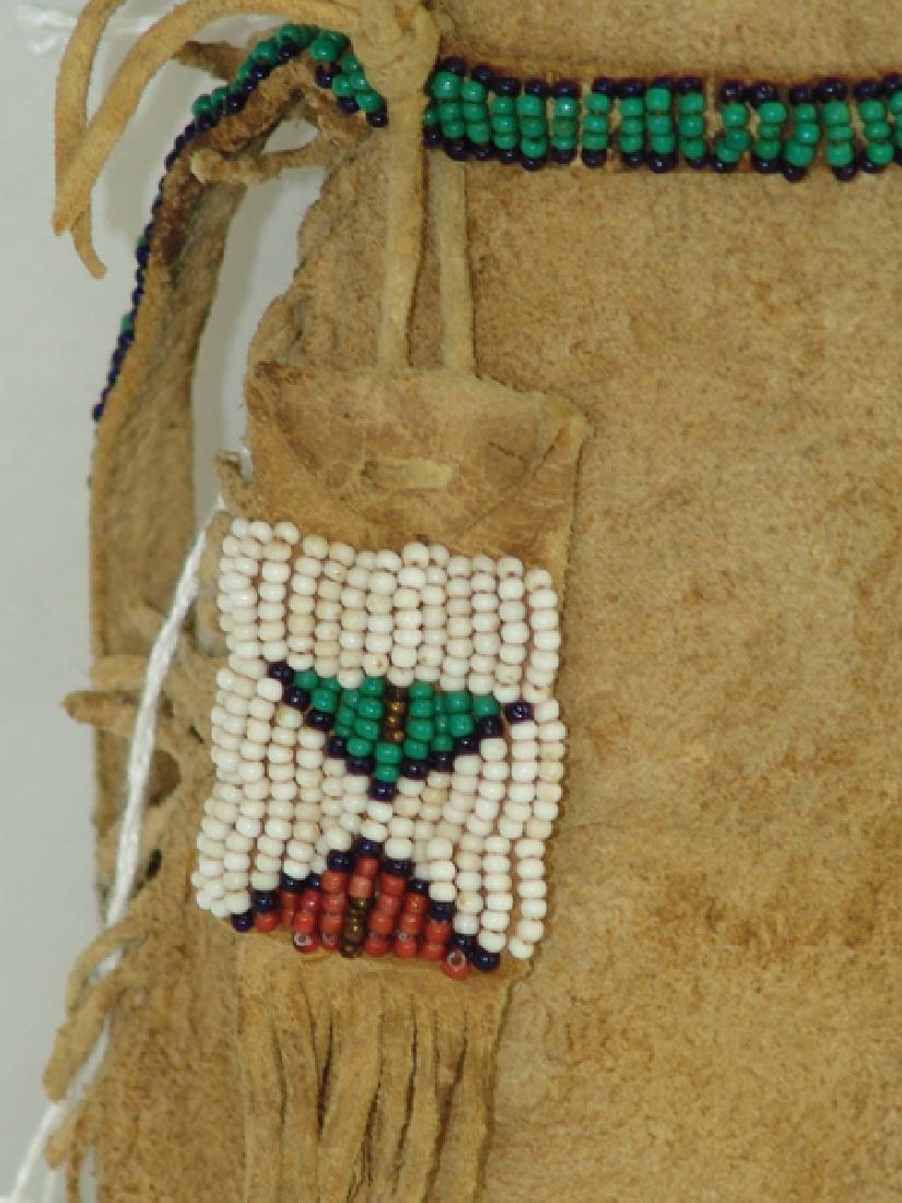 Sioux Beaded Buckskin Doll - 4