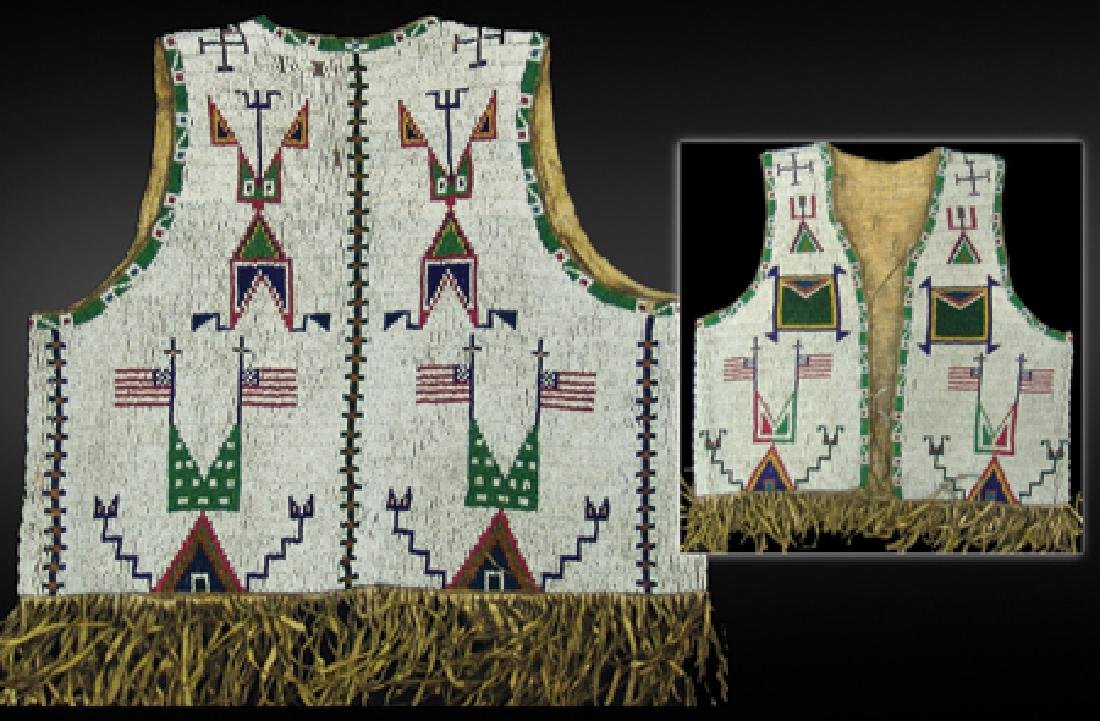Sioux Beaded Boy's Vest