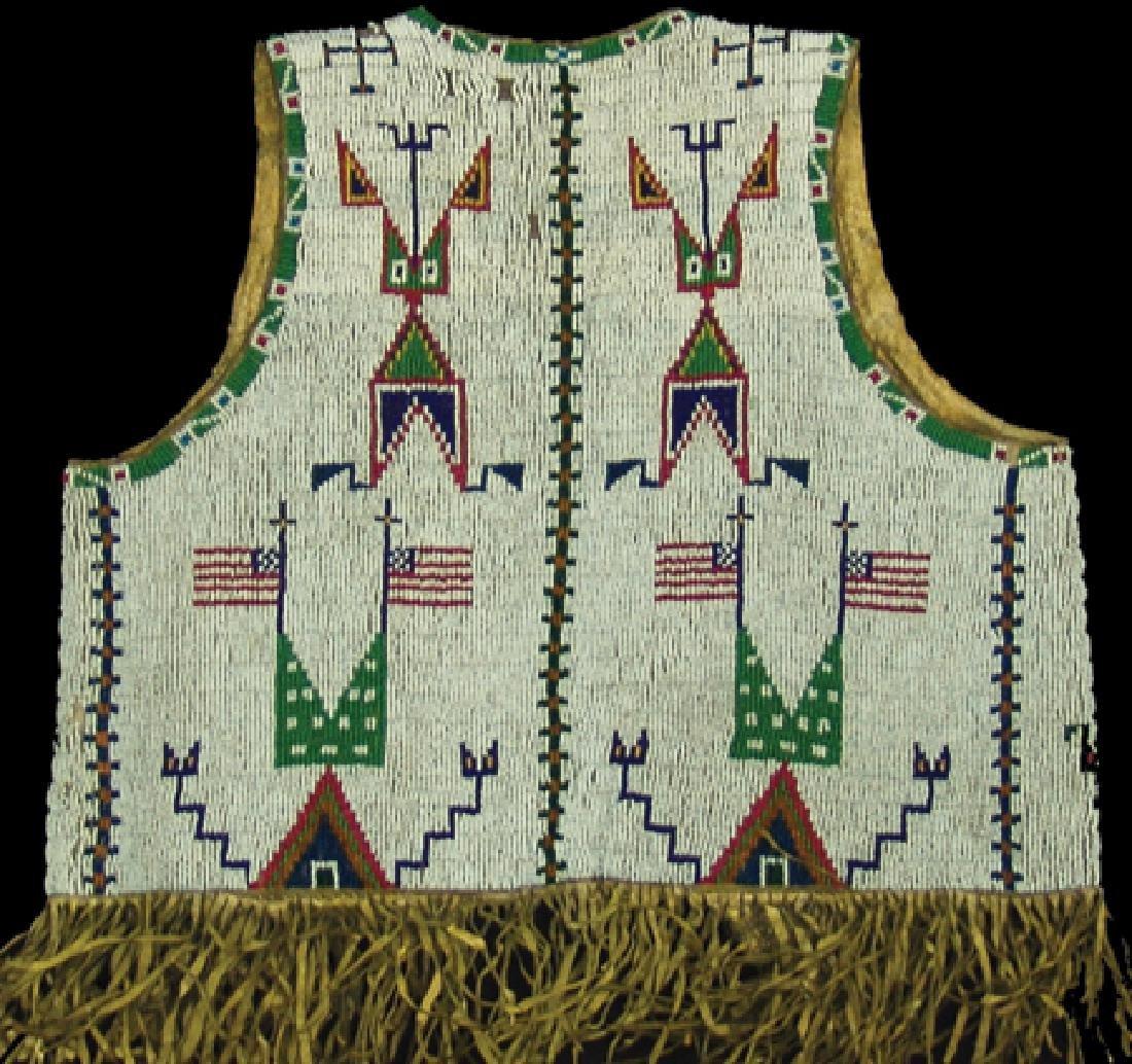 Sioux Beaded Boy's Vest - 2