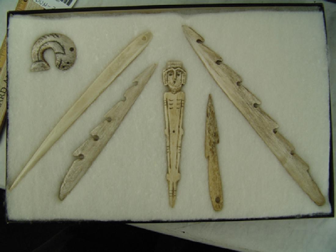 Eskimo Bone Tools - 2