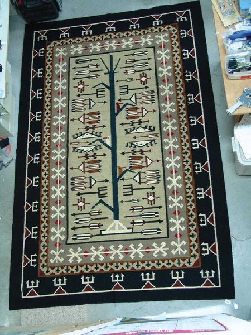 Navajo-Style Rug/Weaving - 3