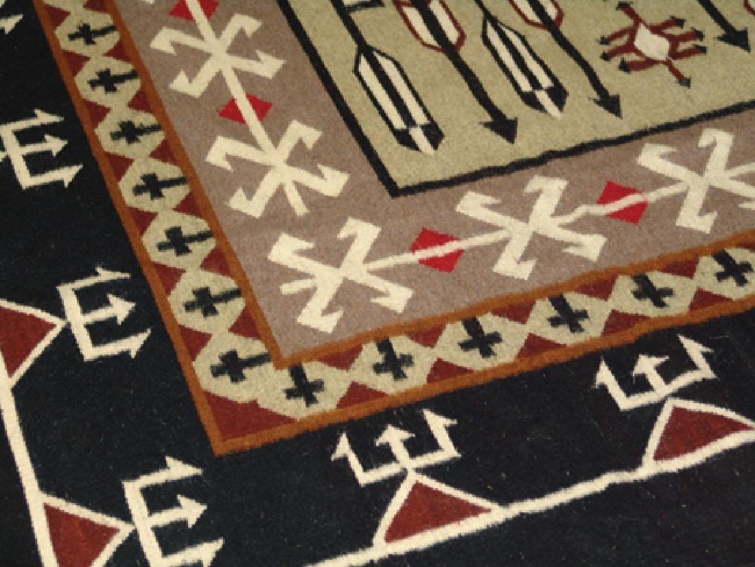 Navajo-Style Rug/Weaving - 5