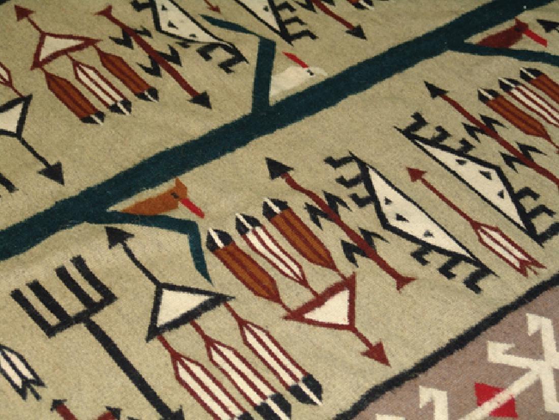 Navajo-Style Rug/Weaving - 6
