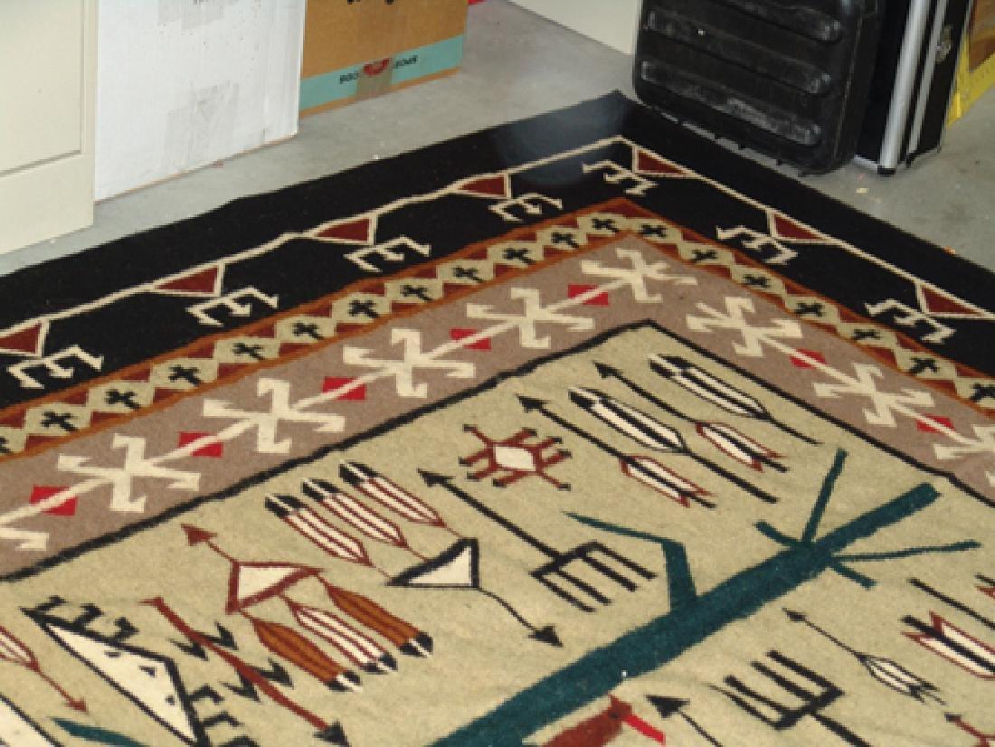 Navajo-Style Rug/Weaving - 7