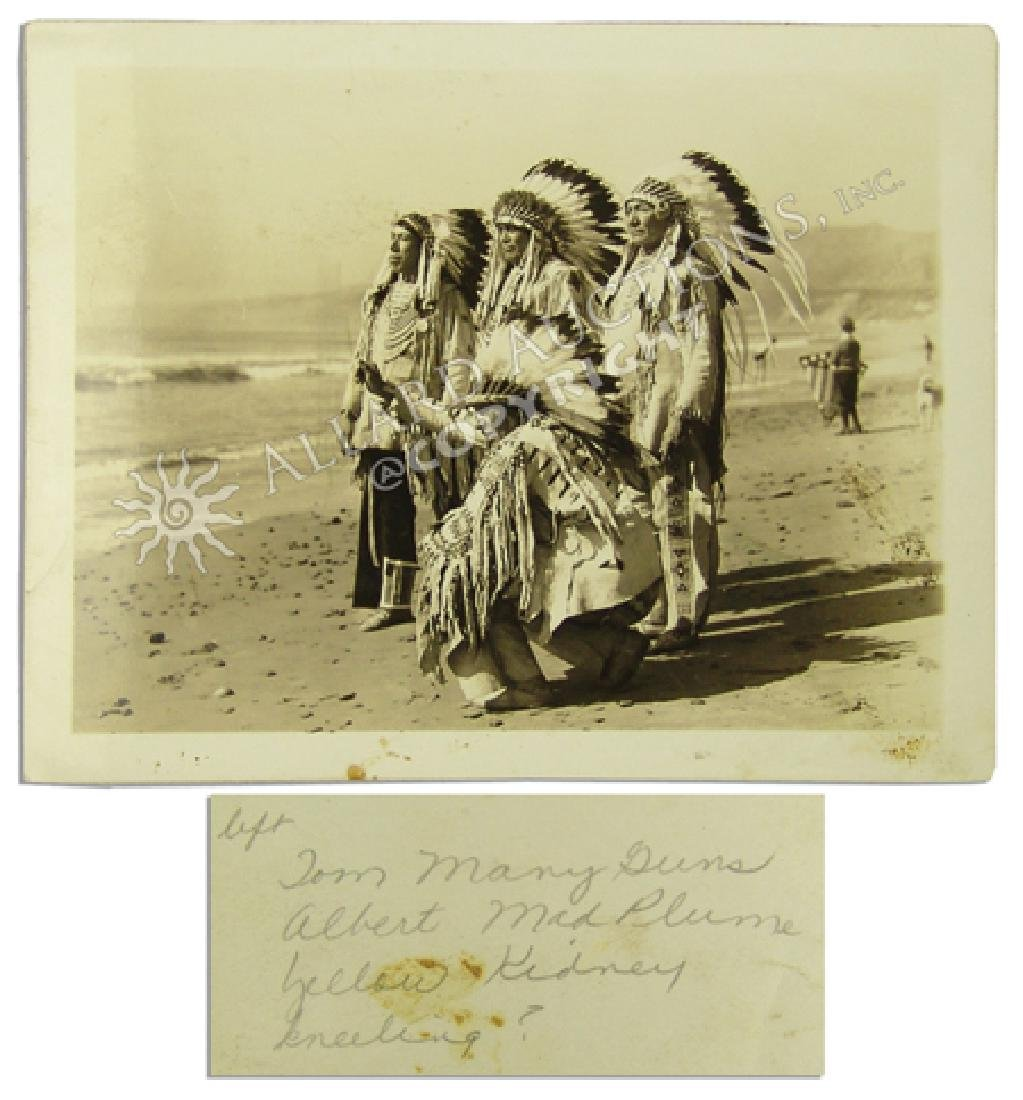 Historic Blackfeet Photo Collection - 6