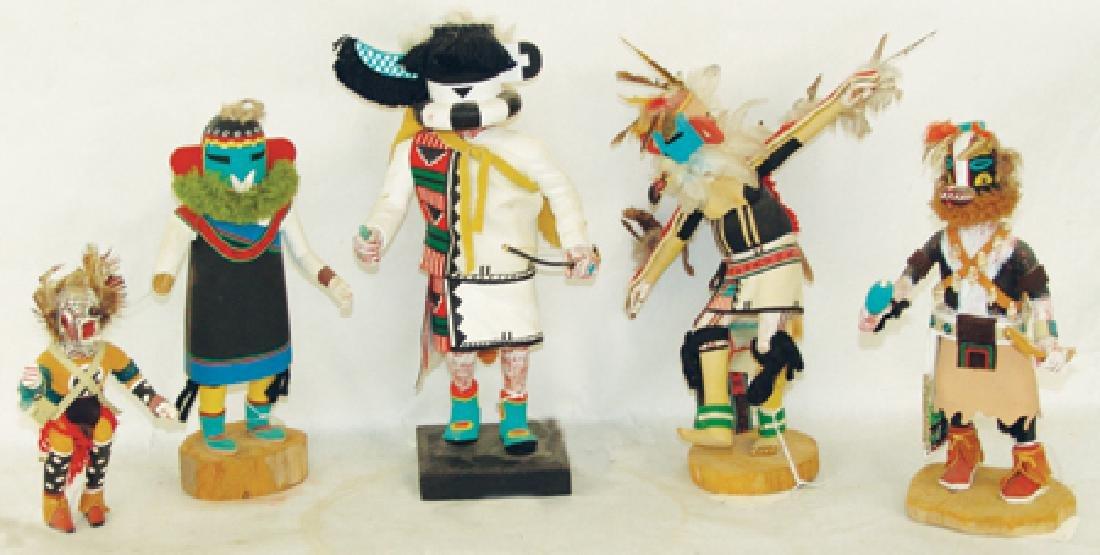 5 Kachina Carvings