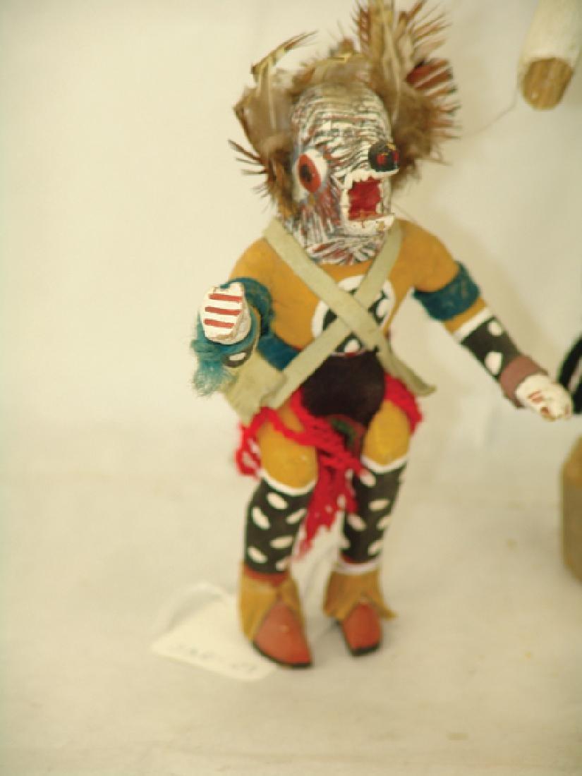 5 Kachina Carvings - 3