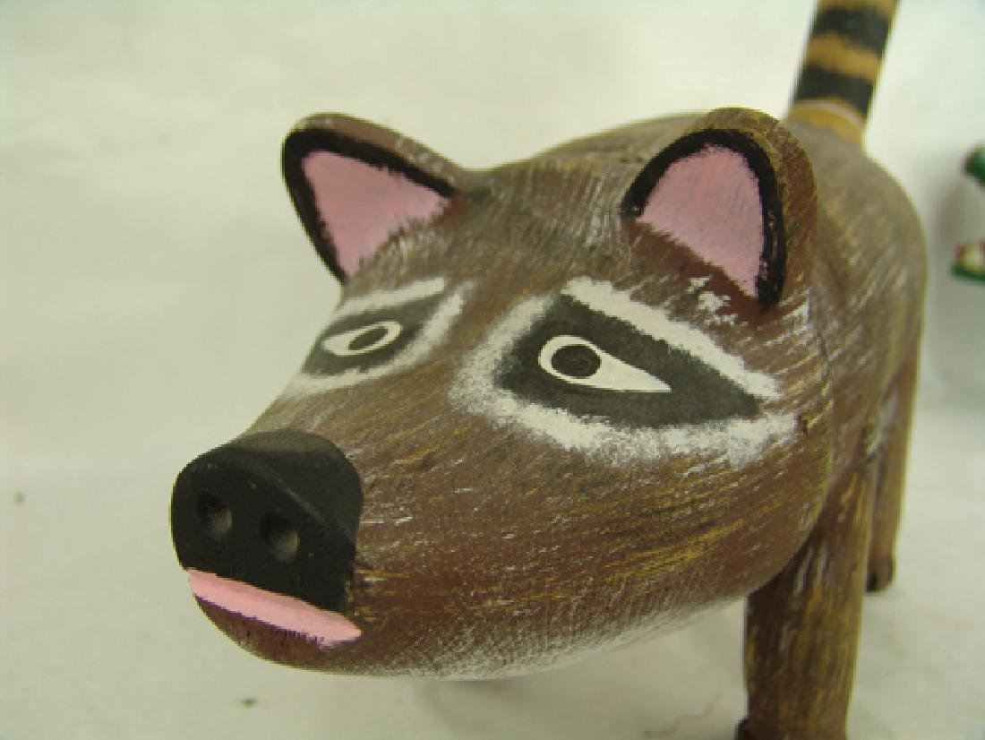 New Mexico Folk Art Carving - Jorge Rodriguez - 3