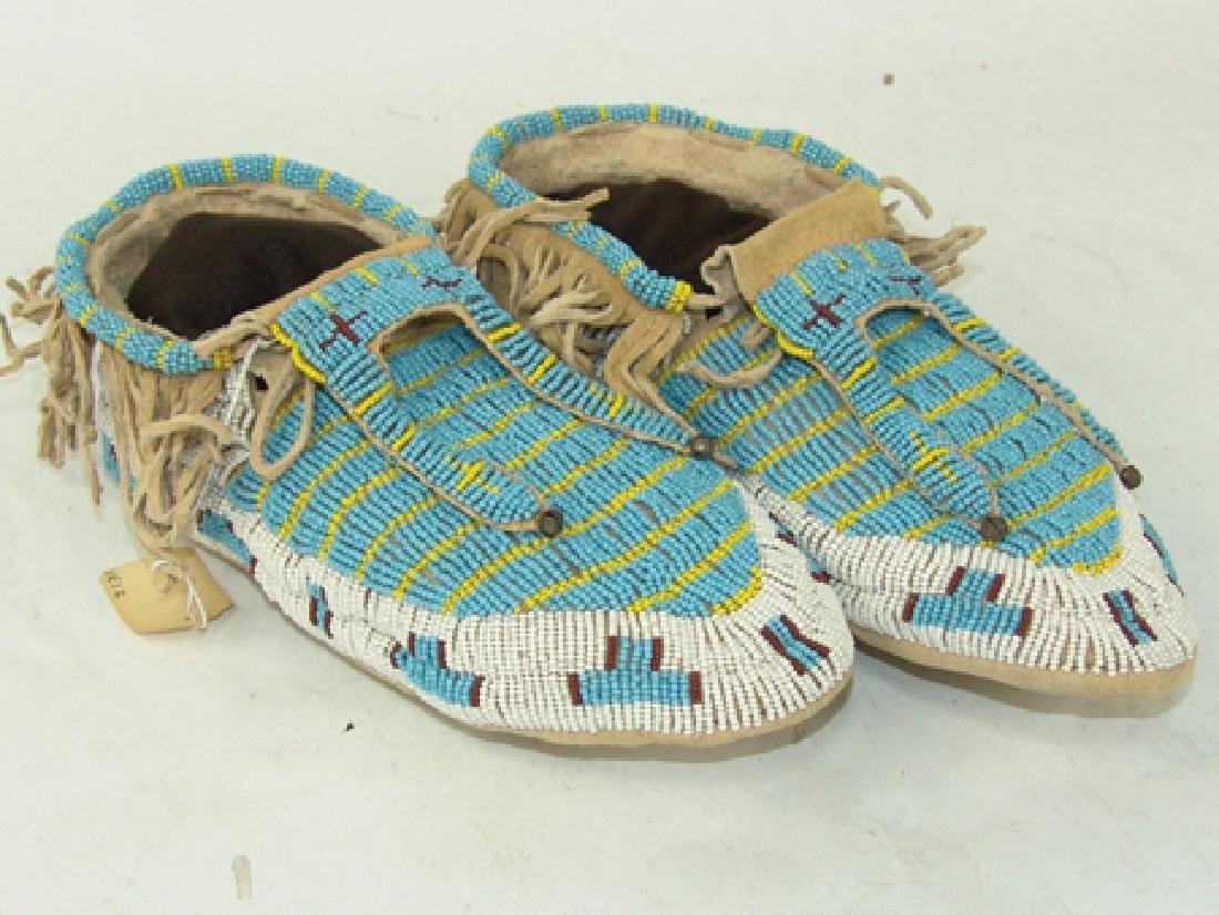 Arapaho Beaded Moccasins - 2