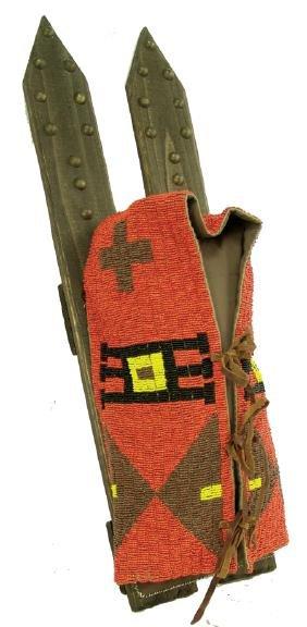 Navajo Beaded Cradleboard
