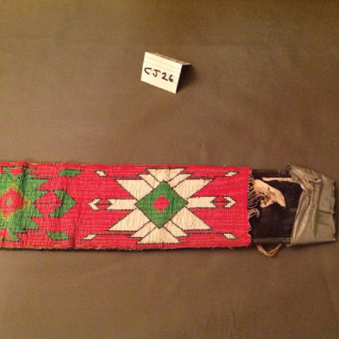 Comanche Beaded Belt - 2