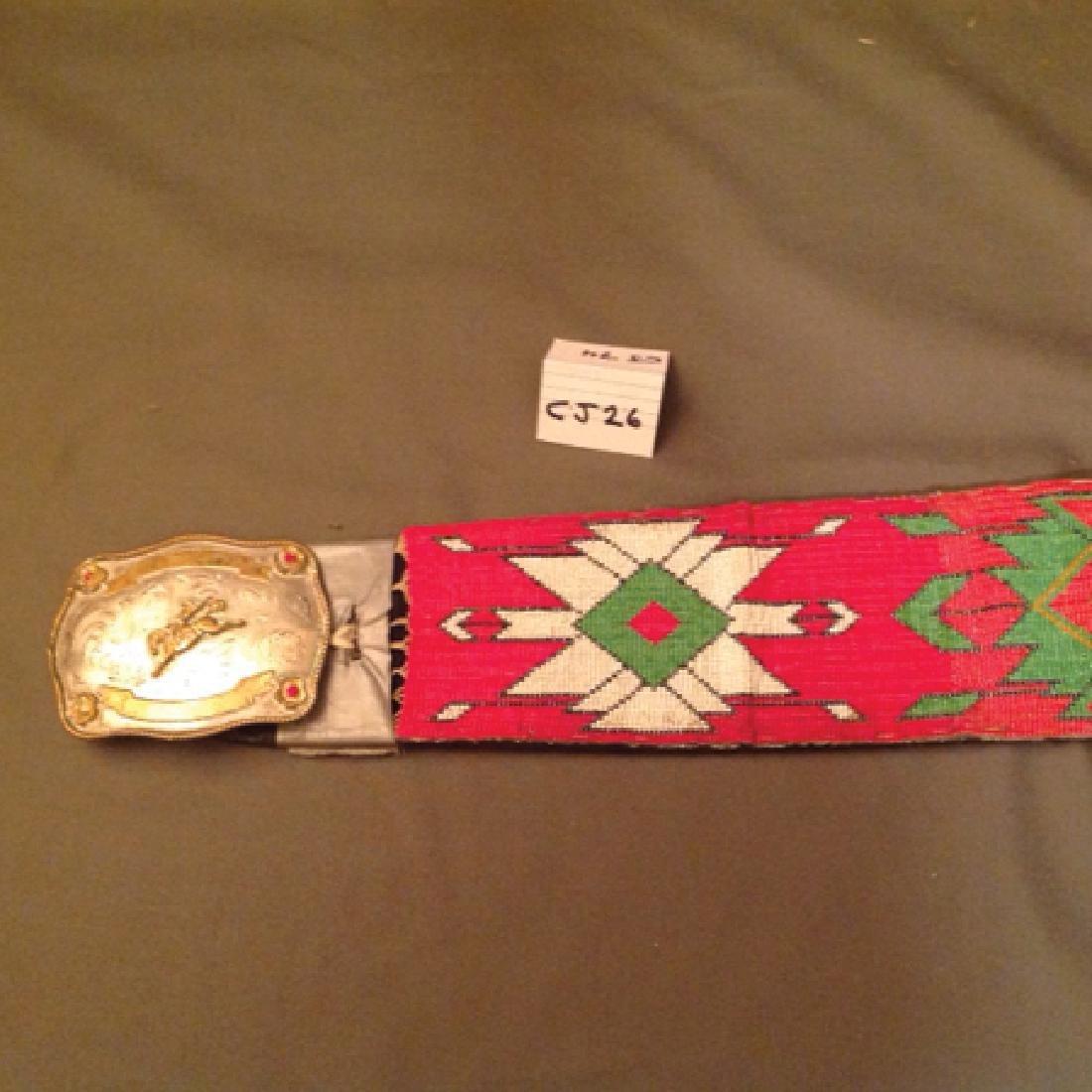 Comanche Beaded Belt - 3