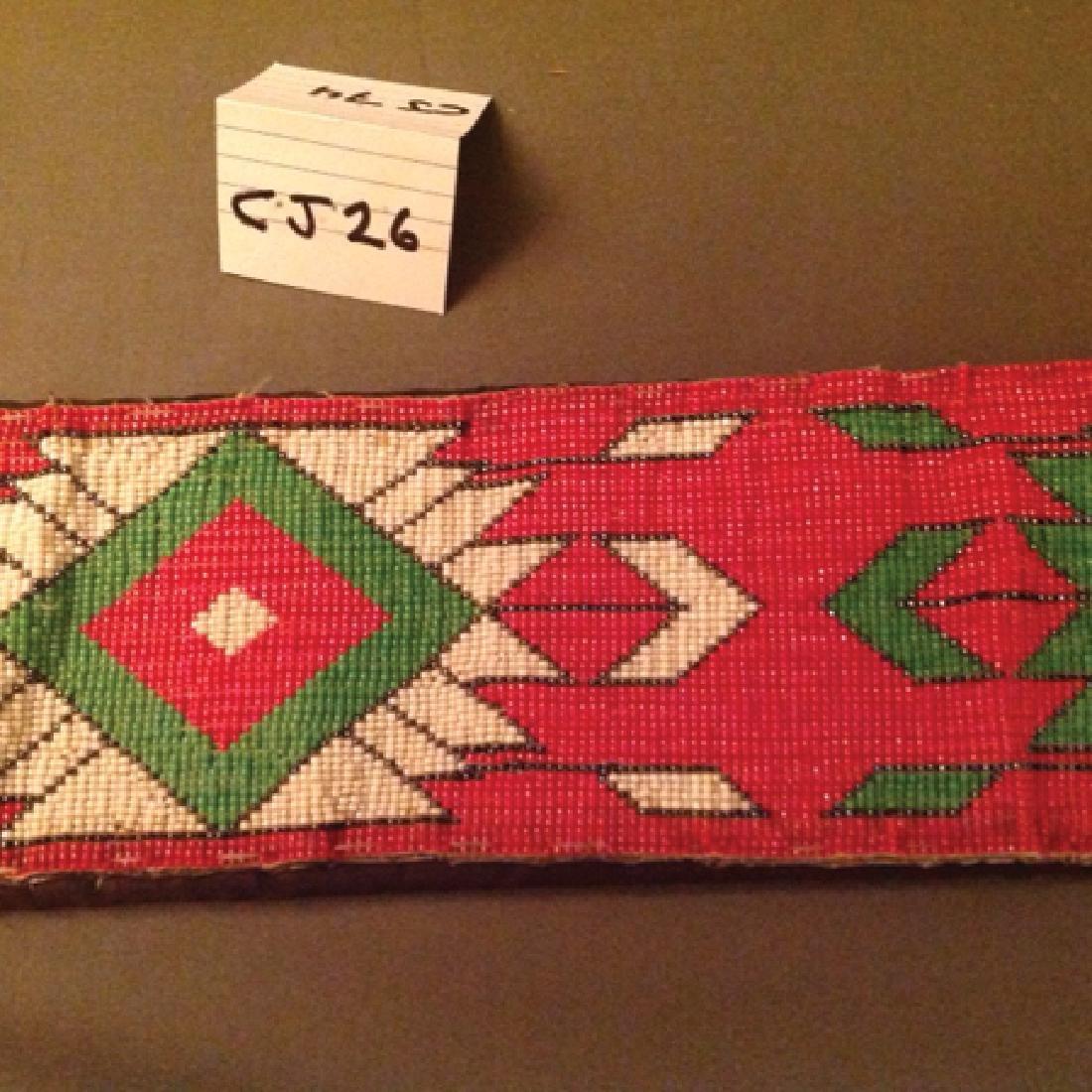 Comanche Beaded Belt - 4