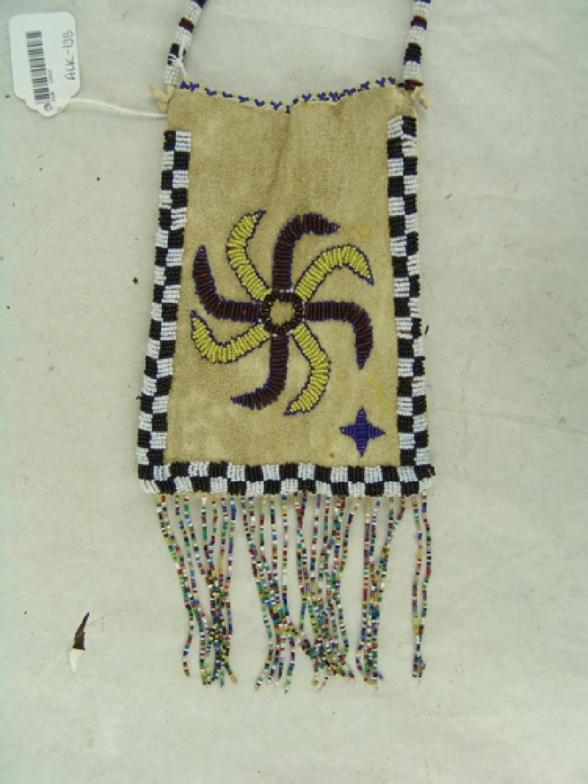 Kiowa Beaded Bag - 2