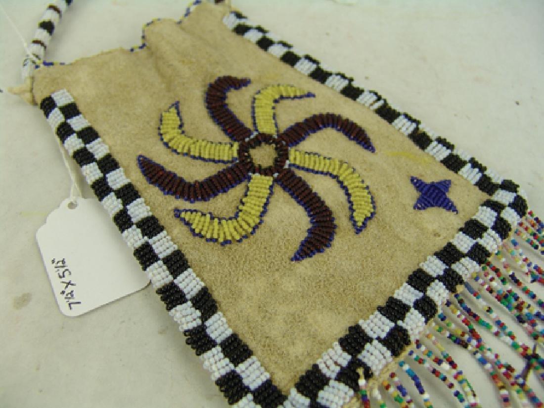 Kiowa Beaded Bag - 4