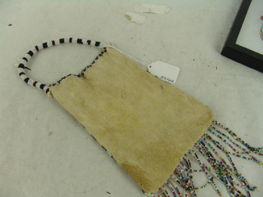 Kiowa Beaded Bag - 5