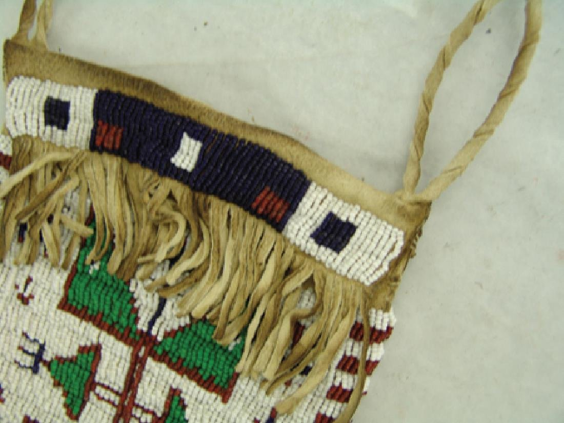 Sioux Beaded Bag - 3