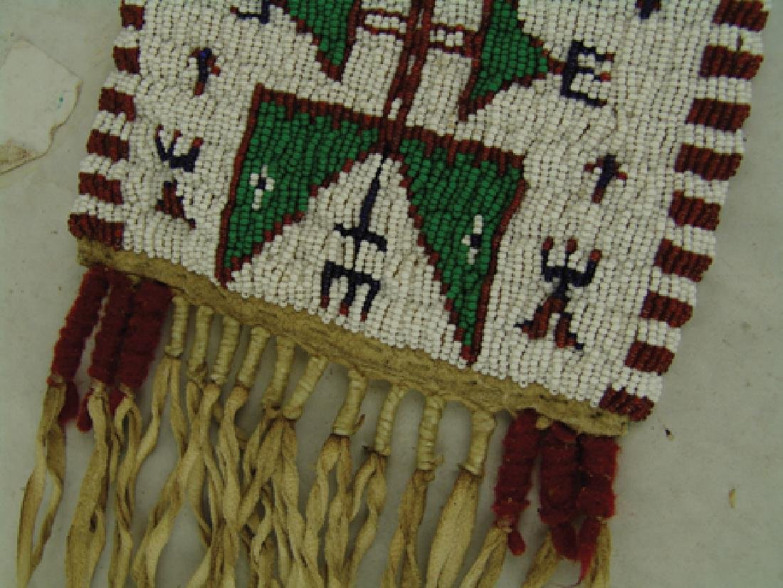 Sioux Beaded Bag - 4