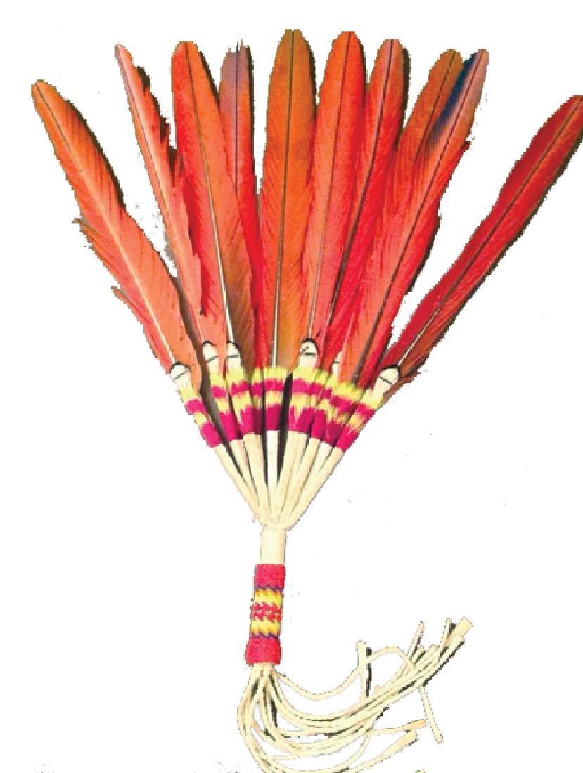 Arapaho Feather Fan