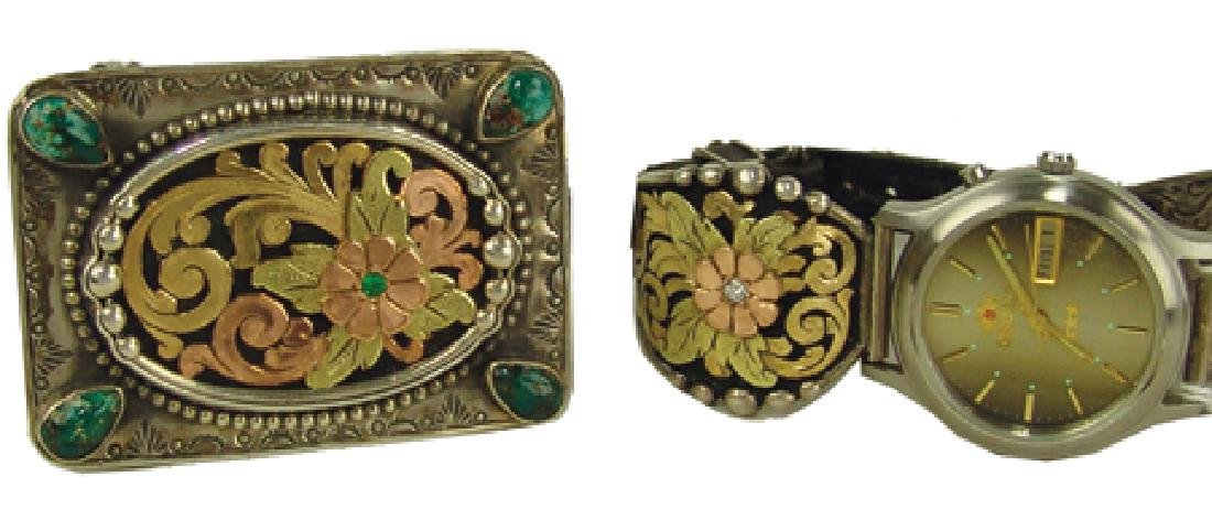 Western Buckle & Watch Set - Bob Be??