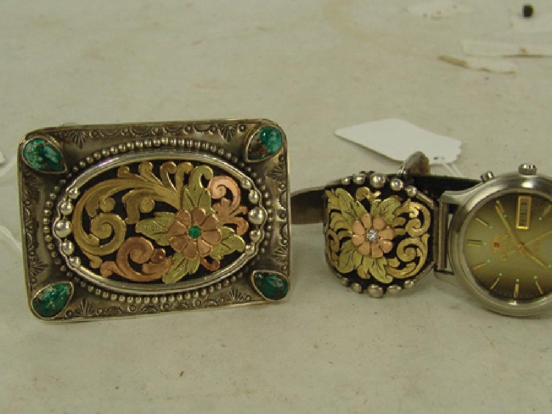 Western Buckle & Watch Set - Bob Be?? - 2