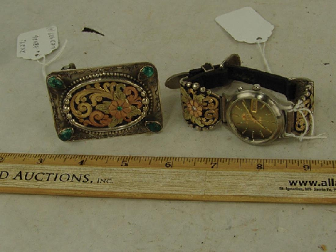 Western Buckle & Watch Set - Bob Be?? - 3