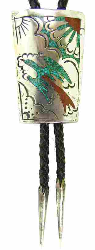 Navajo Bolo Tie - Willie Singer