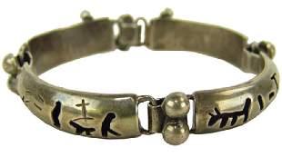 Silver Segment Bracelet