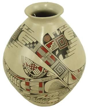Mata Oritz Pottery Jar - Salvador Almazan