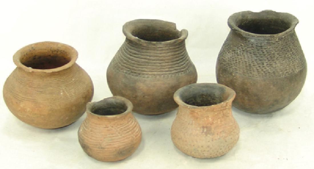 5 Anasazi Pottery Items