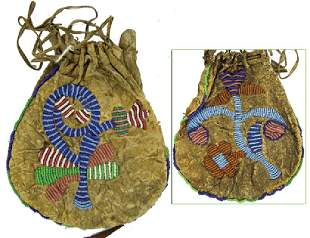 Santee Sioux Beaded Bag