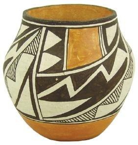 Acoma Pottery Jar - L. Concho
