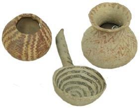 3 Anasazi Pottery Items