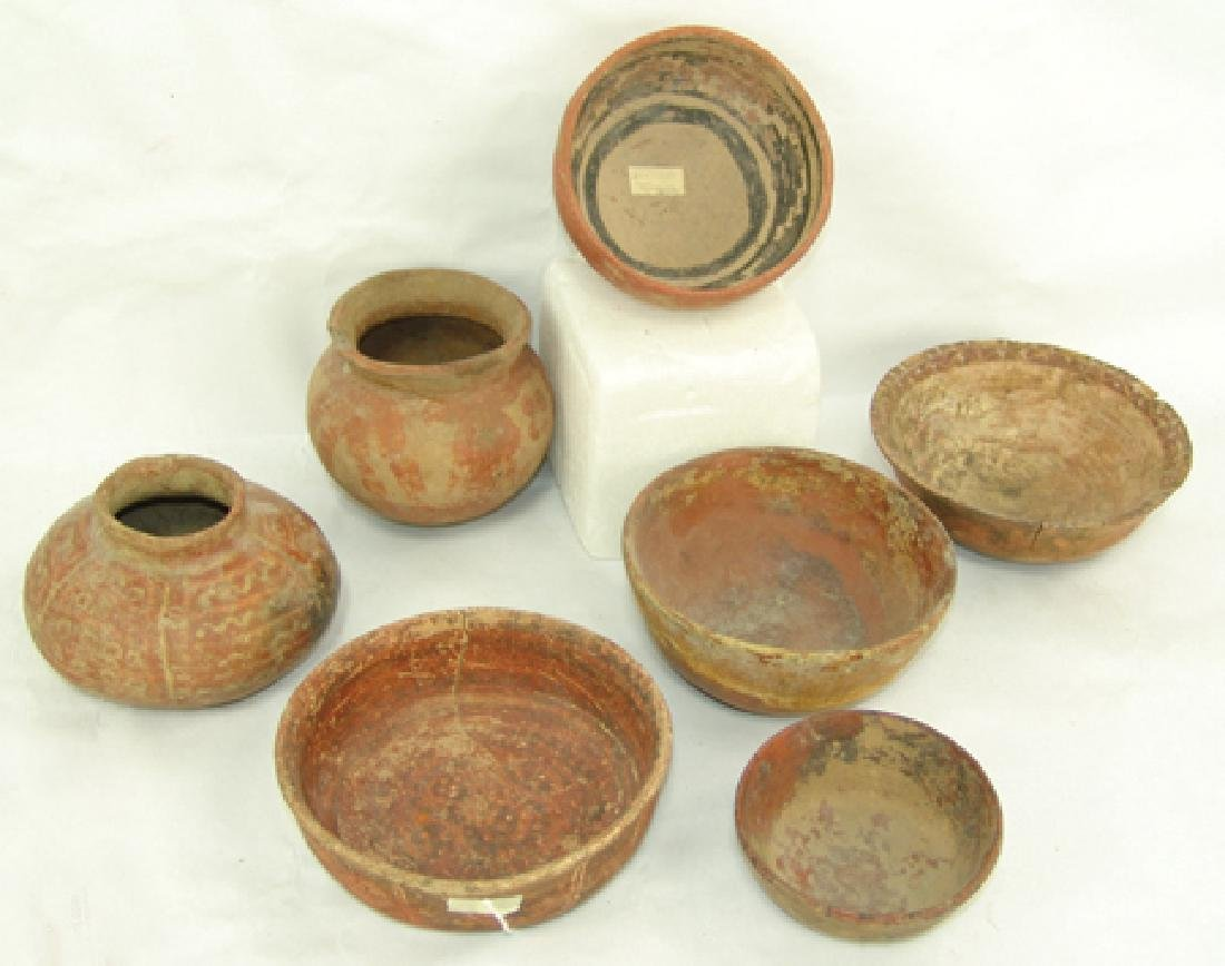 7 Pottery Items
