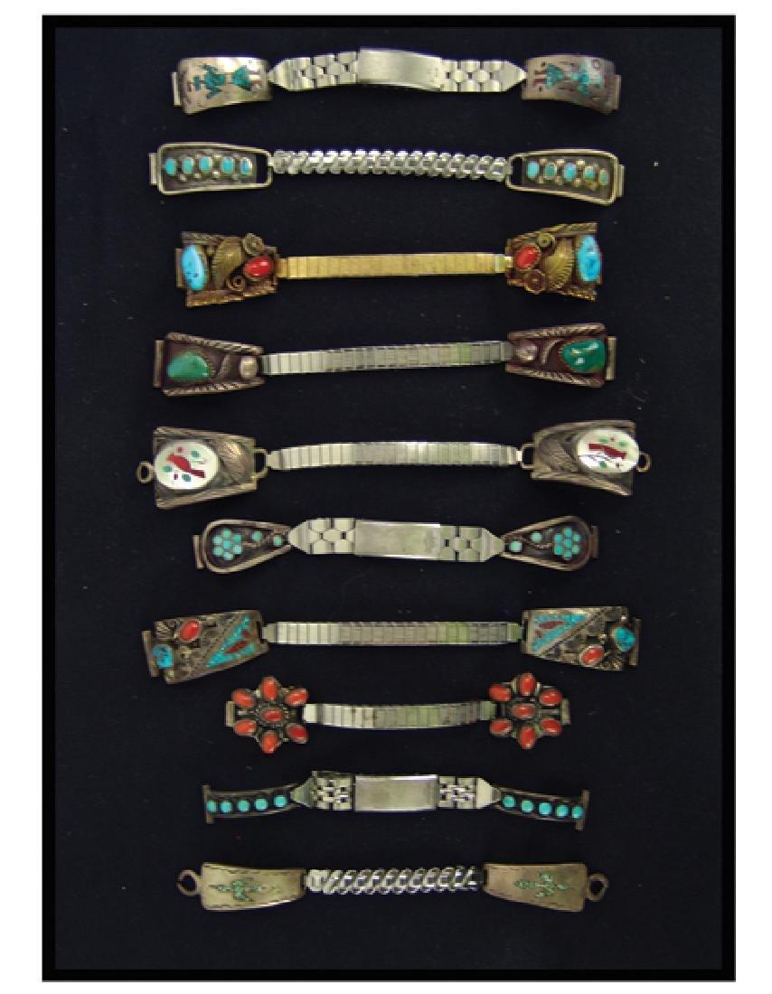 Navajo/Zuni Watchband Display