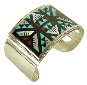Zuni Inlay Bracelet - L & L Othole