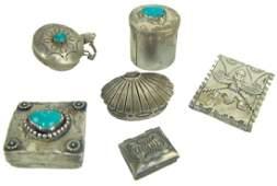Vintage Navajo Silver Items