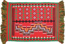 Navajo Germantown Rug/Weaving