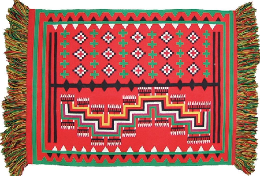 Navajo Germantown Rug/Weaving