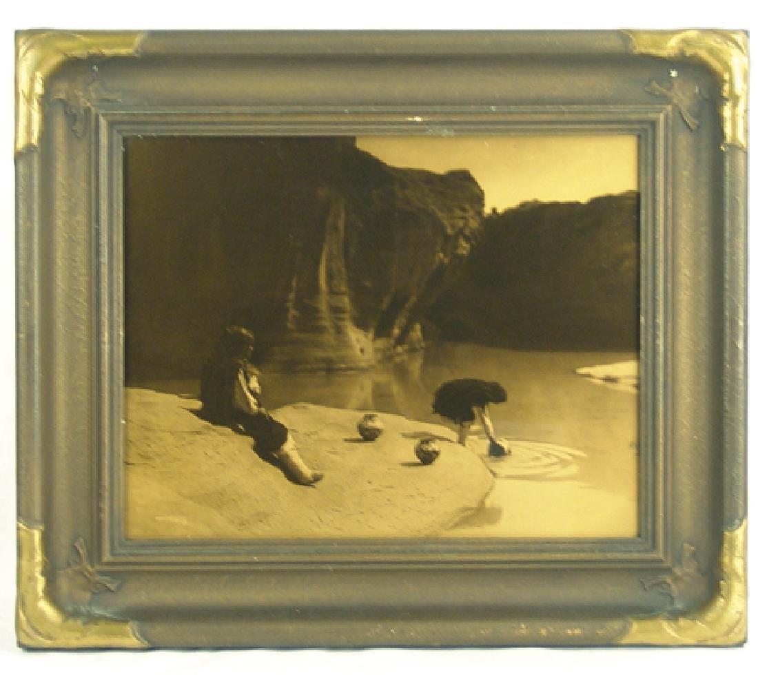 Edward Curtis (1868-1952) Goldtone Photo