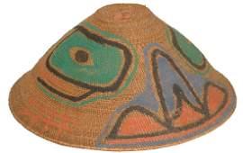 Nootka/Makah Basket Hat
