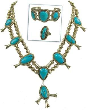 Navajo Necklace Set Freddie Maloney