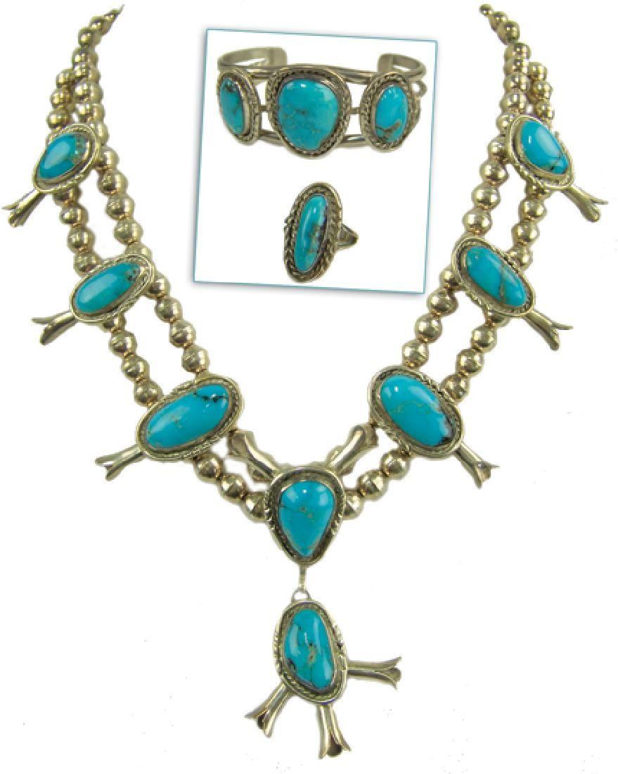Navajo Necklace Set - Freddie Maloney