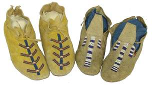 Child's Beaded Moccasins