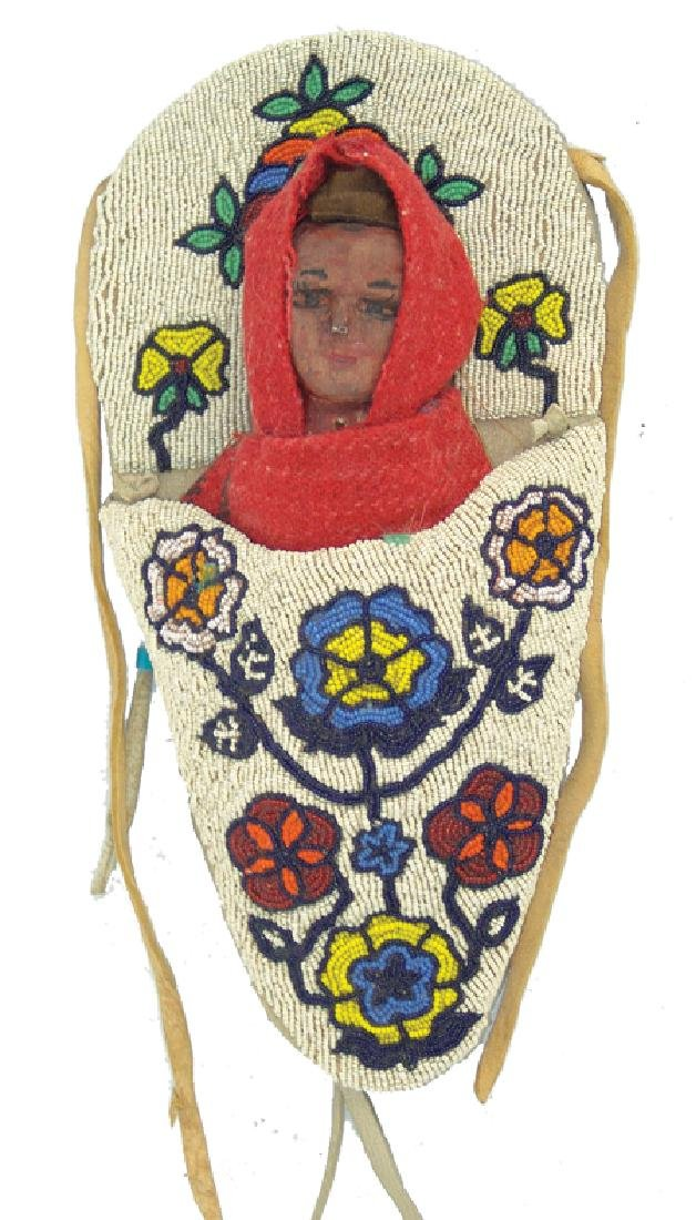Plateau Beaded Toy Cradle